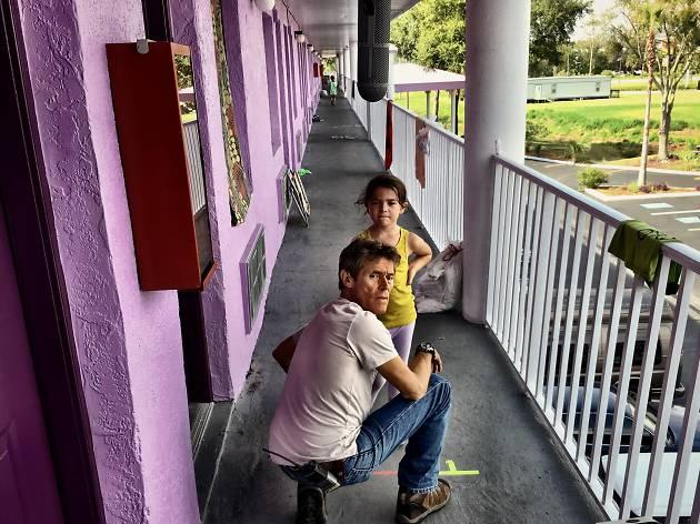 Willem Dafoe en The Florida Project