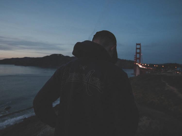 Golden Gate Overlook, north