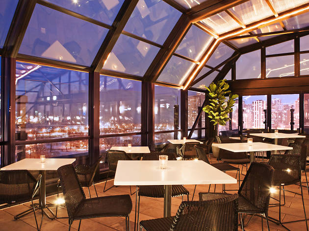 The J. Parker is opening its roof for a free, Olympian-approved Après Ski Party this winter