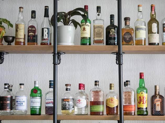 Bar at Harsyard Newtown