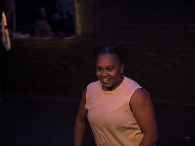 My Urrwai feat Ghenoa Gela Belvoir 2018 Sydney Festival supplied photo