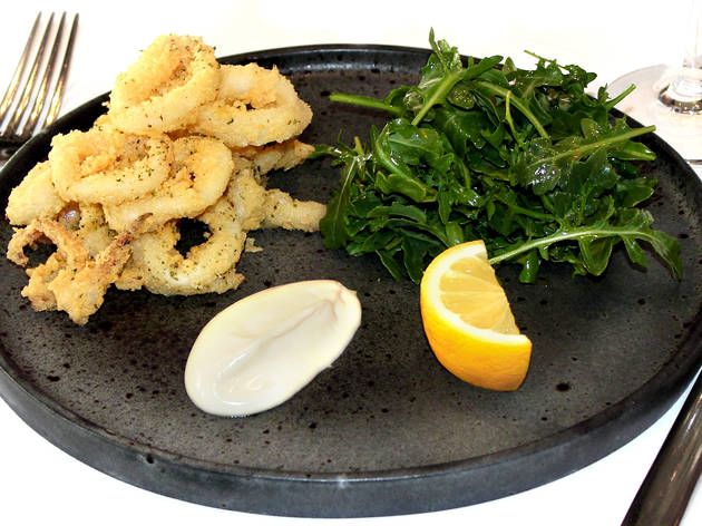 Salt and Pepper squid at Ciao Cielo