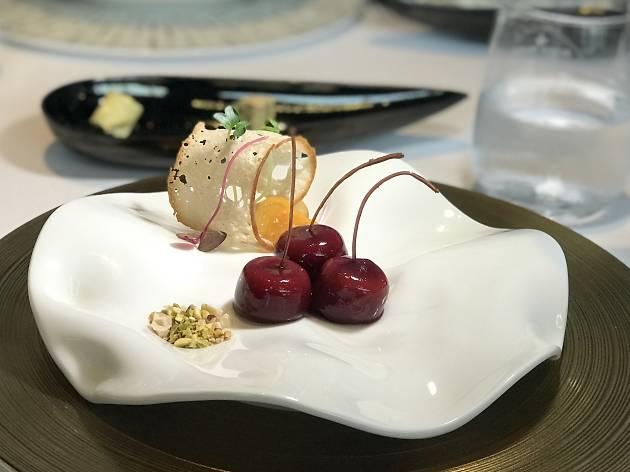 Foie Gras Cherry at Tangerine