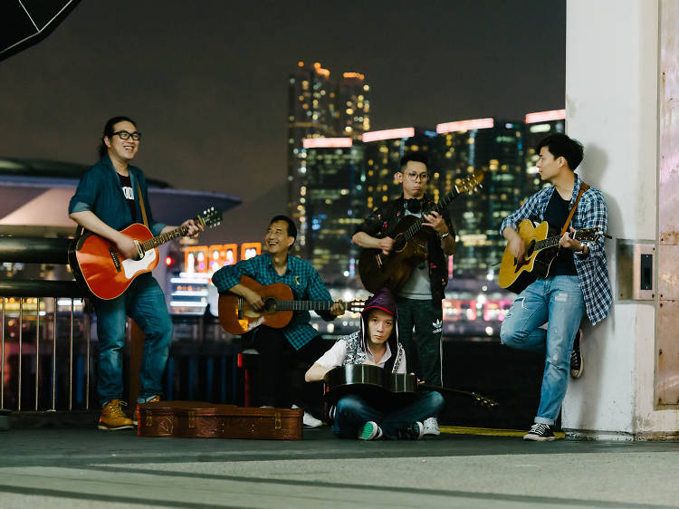 Meet five of our city's buskers
