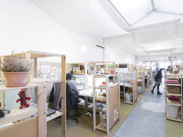 Além de loja, a CRU é também um espaço cowork