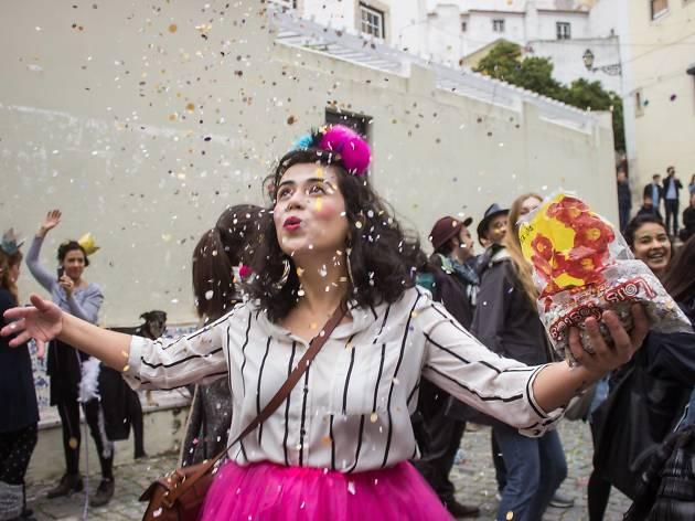 O Carnaval sai à rua no Village Underground