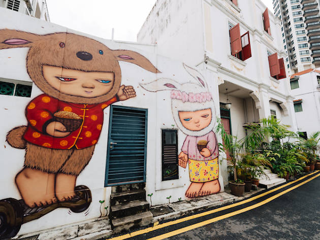 Where to find street art in Singapore
