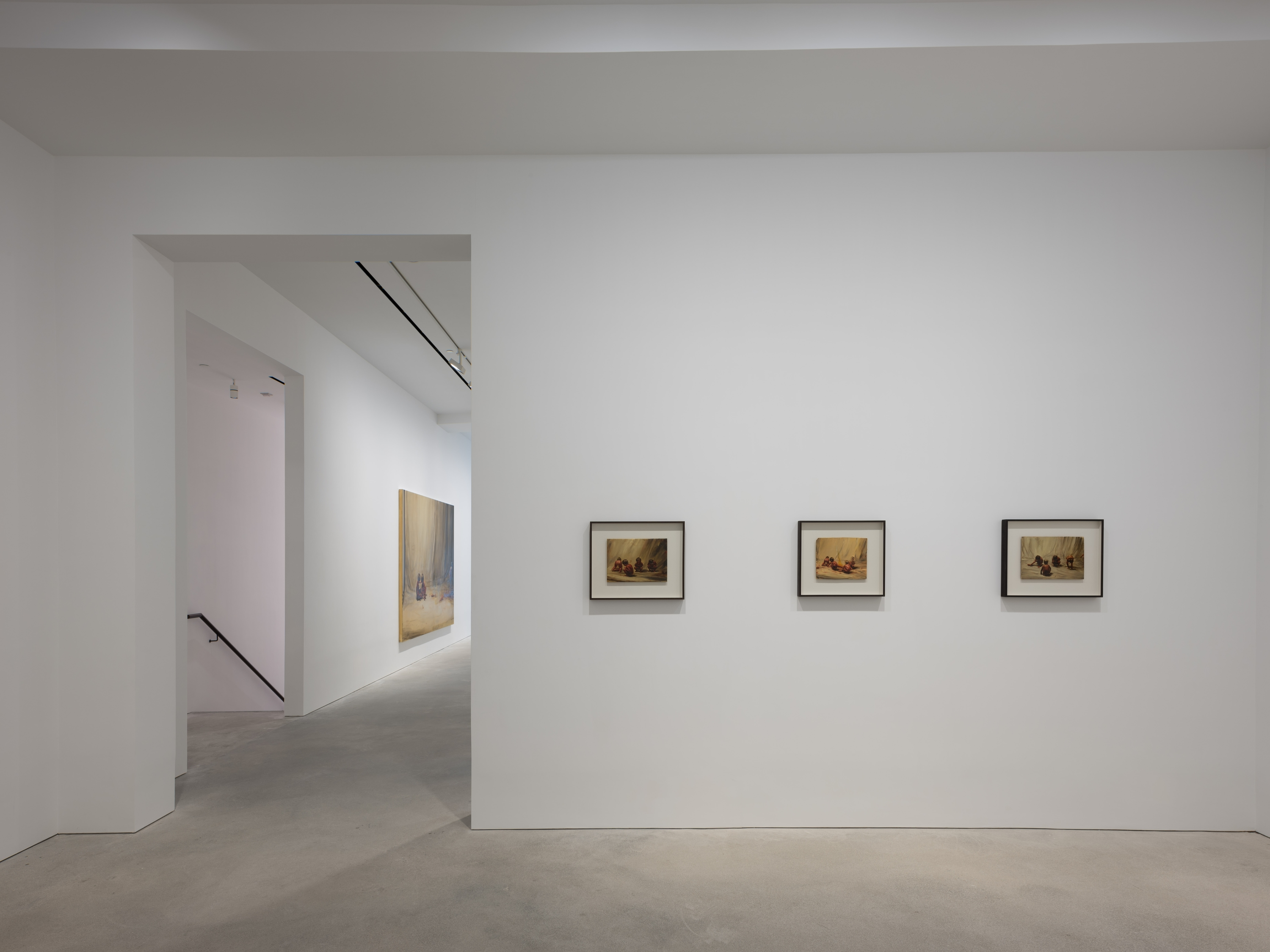 David Zwirner gallery interior