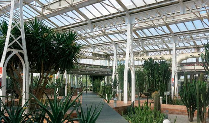 Invernadero Palacio de Cristal de Arganzuela