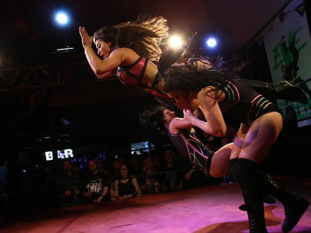 eve wrestling