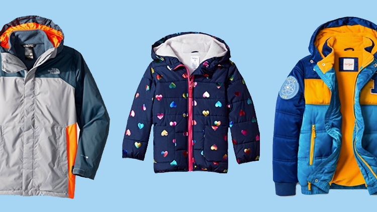 Toddler Baby Girls Puffer Jacket Kids Bubble Thick Padded Coats Winter Outerwear