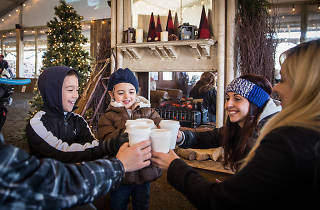 Blue Cross RiverRink Winterfest and the Free Library of Philadelphia host a weekly reading event for kids