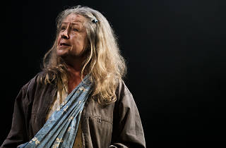 Noni Hazlehurst performs in Mother