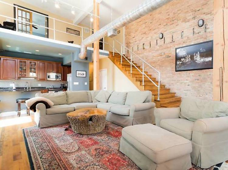 Bi-level penthouse in Old Town