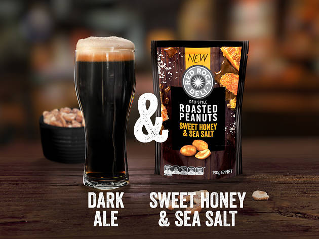 Red Rock Deli beer and nuts honey - commercial