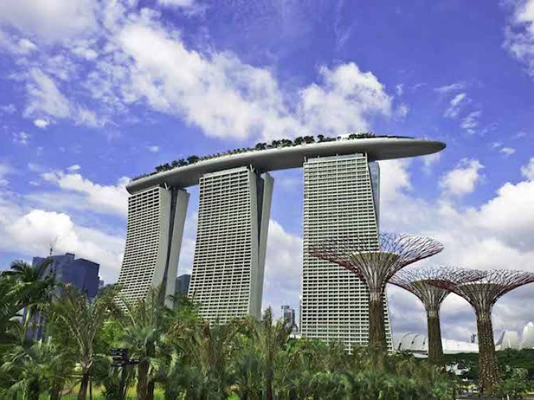 The Casino and Sands SkyPark Observation Deck