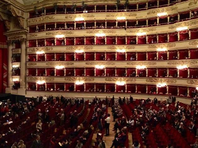Teatro Alla Scala Theatre In Milan