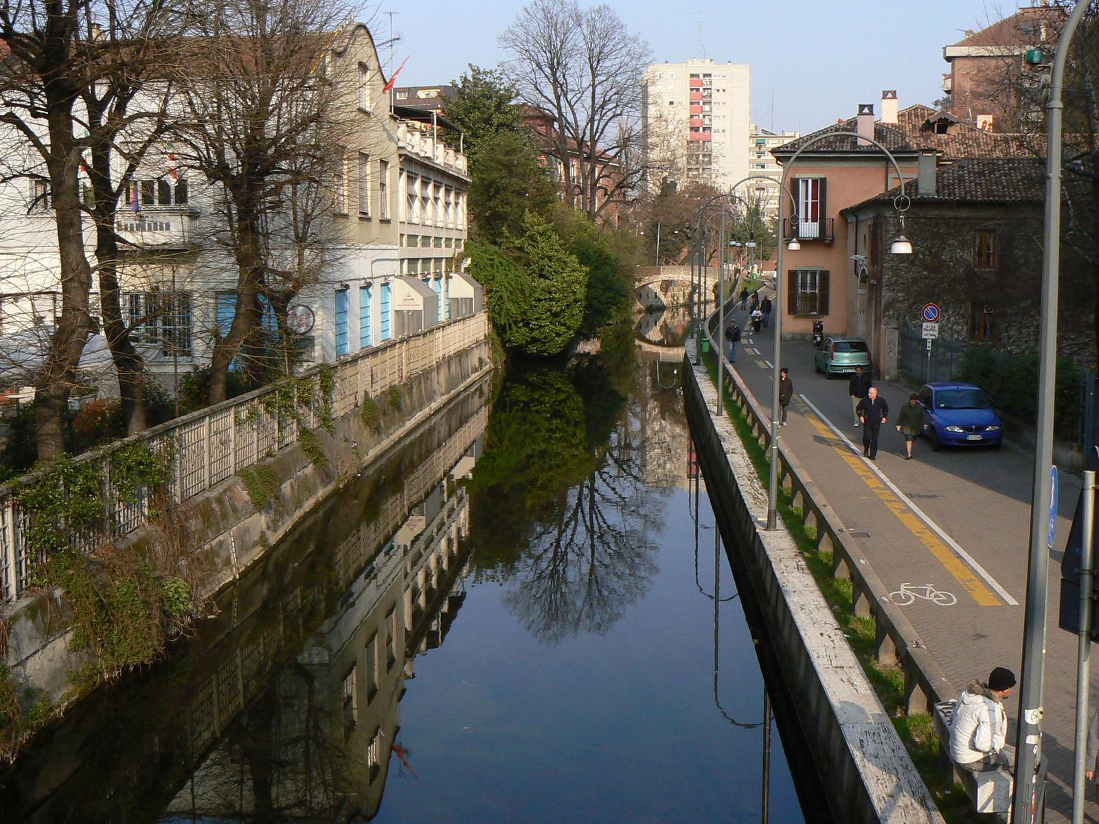 Rent a bike and ride down the canals