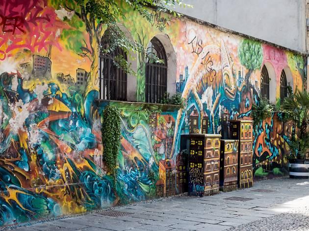 Track down street art in Isola