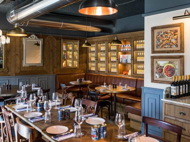 Comer no restaurante de uma estrela da televisão: o Jamie's Italian