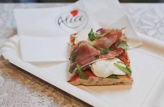 Alice Pizza is a pizzeria located in Center City Philadelphia