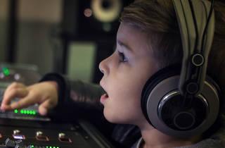 Taller de radio para niños Eg Lee