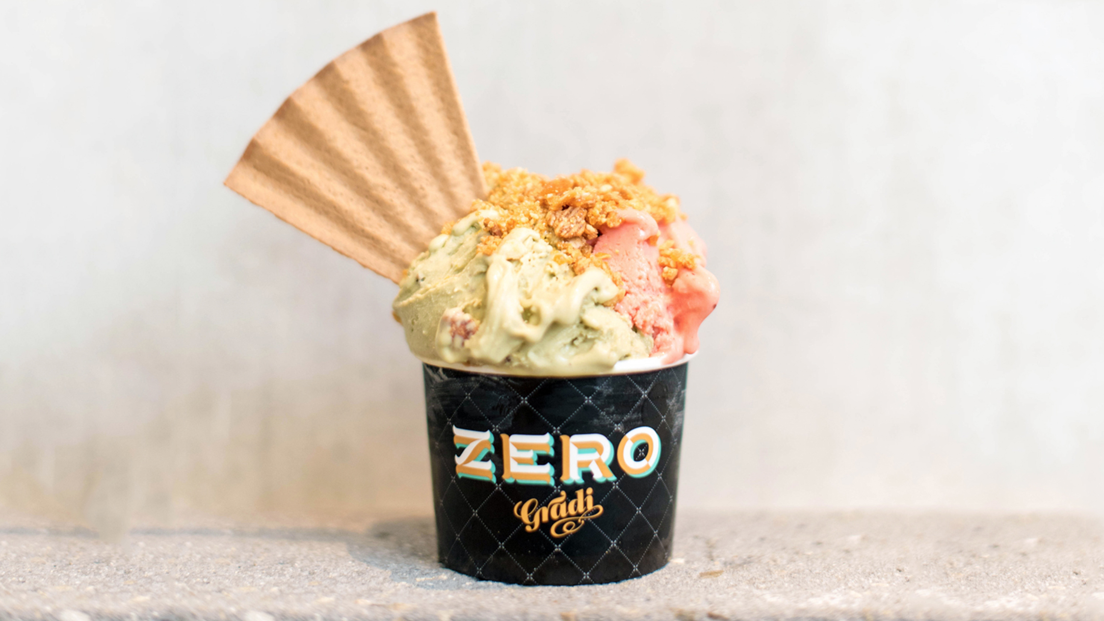 Gelato at Zero Gradi Brunswick