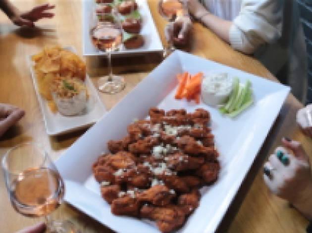 Wings at Brack Shop Tavern