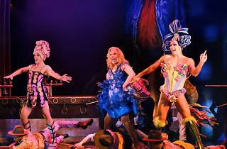 On Stage at Priscilla The Musical Melbourne