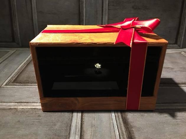 I.R Industrial Revolutionary Workshop x B. Cloriss Handmade 玫瑰戒指傳息禮盒手作坊