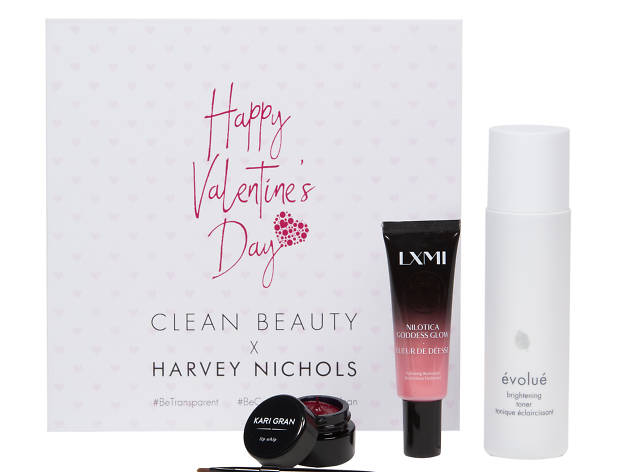 Clean Beauty box valentine's day