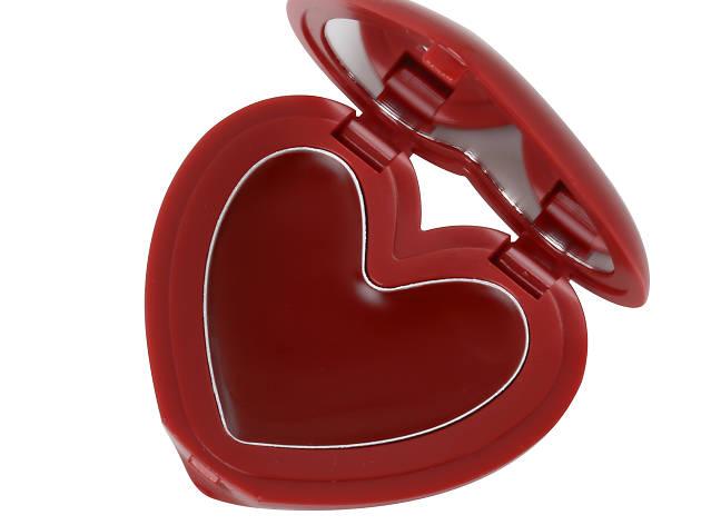 3CE heart pot lip