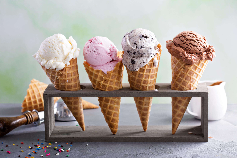 Ice cream for breakfast day (Feb 3)