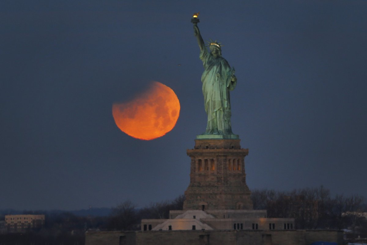 blood moon today new york - photo #14