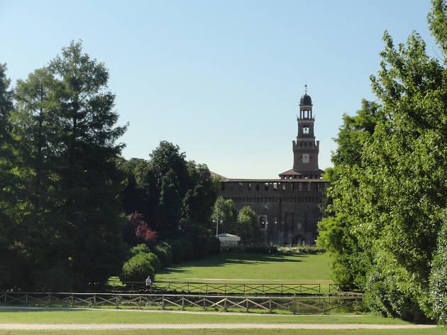 Castello Sforzesco and Parco Sempione