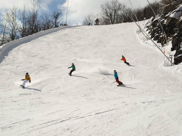 Snowboarding: Hunter Mountain