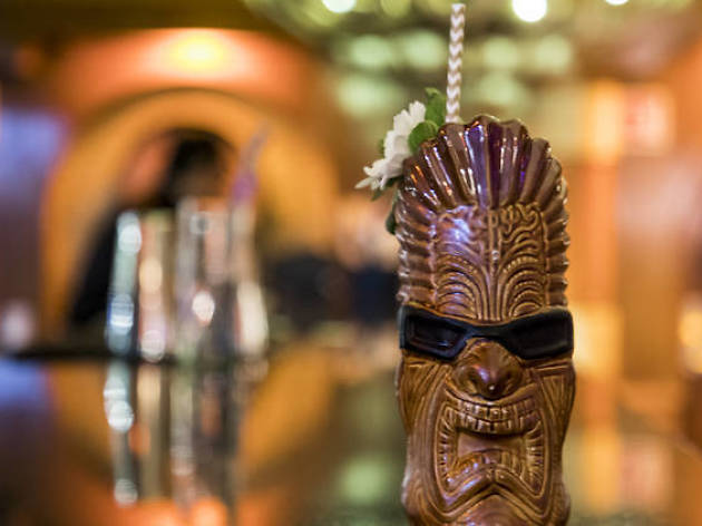 coctel osain de Bakongo tribal hawaiano selva