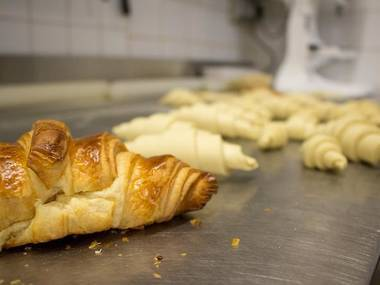 Behind the scenes of a boulangerie