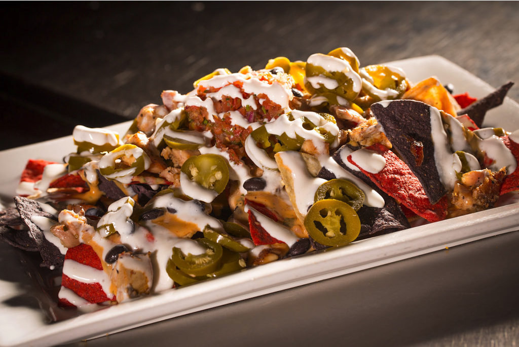 Nachos at Landmark Americana in University City
