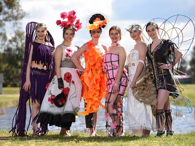 Creative Country Couture: Ag Art Wear Display