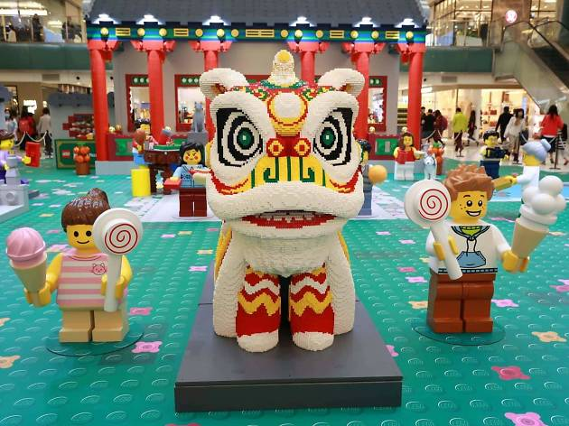 New Town Plaza Chinese New Year lego