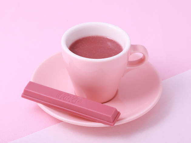 ホット ルビーチョコレート