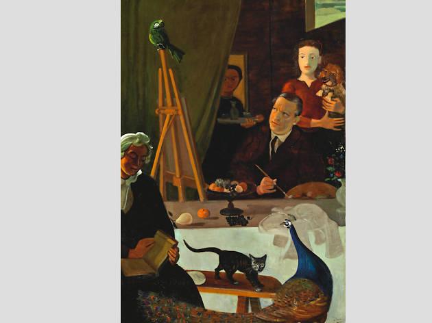 El pintor y su familia