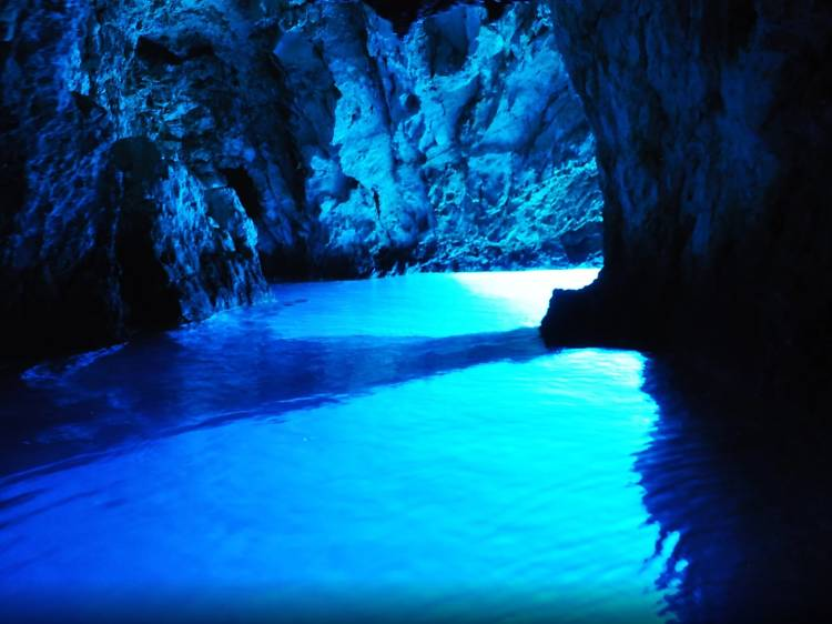 Explore the Blue Cave of Biševo