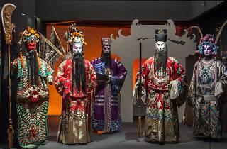 ópera chinesa no museu do oriente