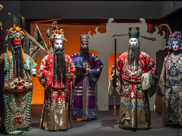 ópera chinesa no museu do oriente