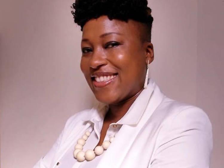 Dr Shola Mos-Shogbamimu thanks Funmilayo Ransome-Kuti and Maya Angelou