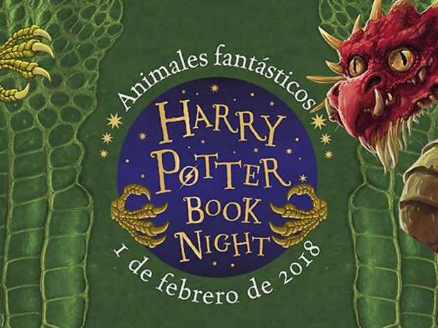 Todas las actividades de la 'Harry Potter Book Night'