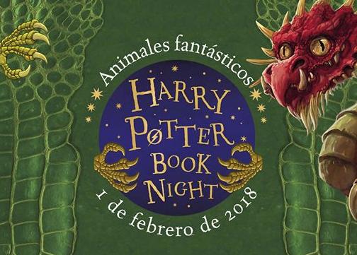 Todas las actividades de la 'Harry Potter Book Night'