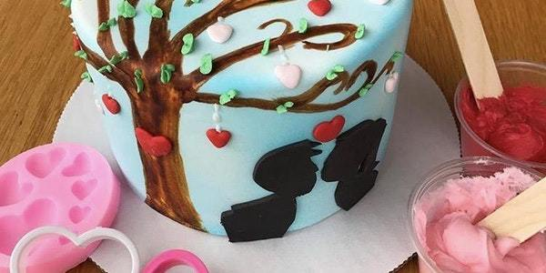 Decorate a cake together